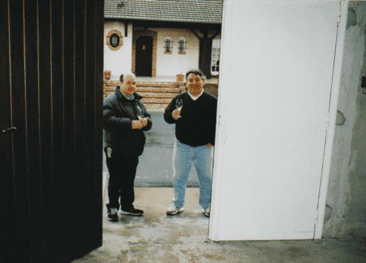 Enoteca-dell'angolo-primo-viaggio-in-francia(Anno-2000)